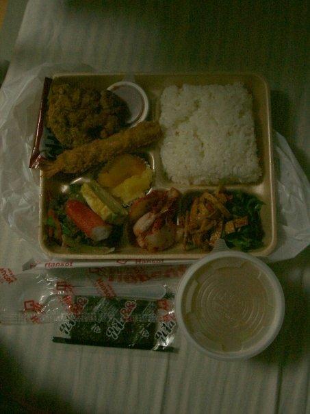 První korejské jídlo