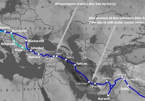 Cesta z Indie domů